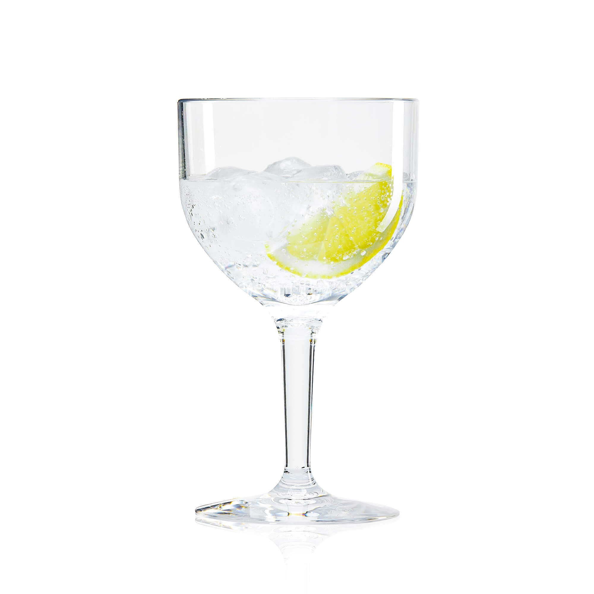 plastic gin glass