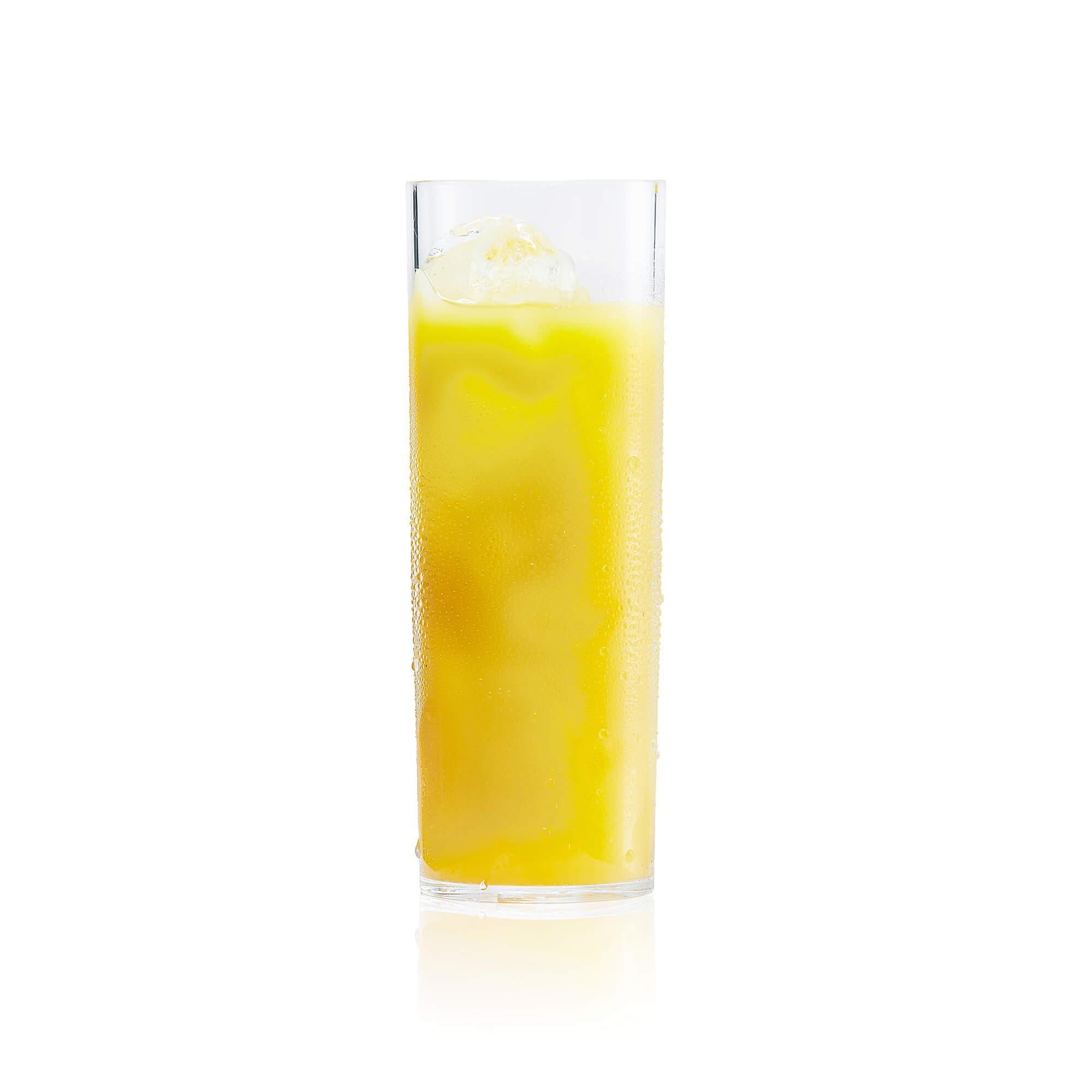 plastic longdrink glass