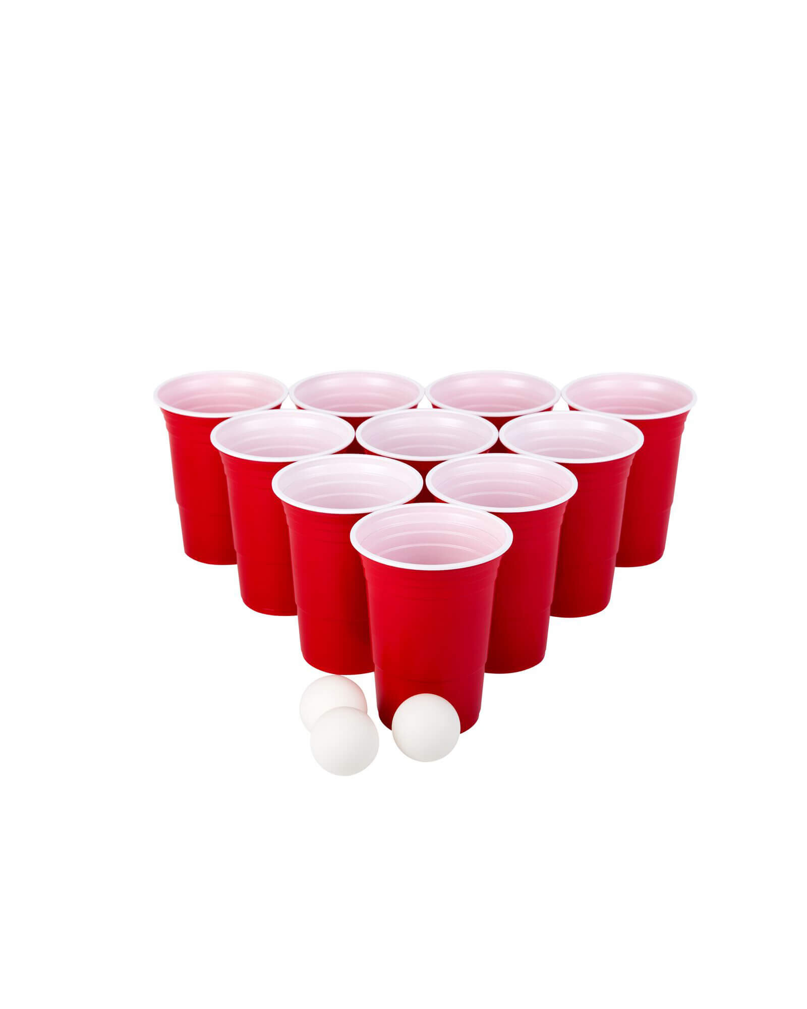 play beerpong game cups