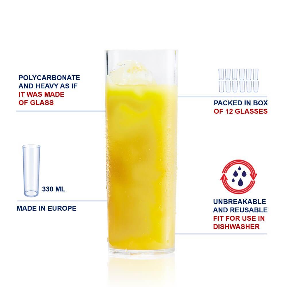 plastic longdrink cup