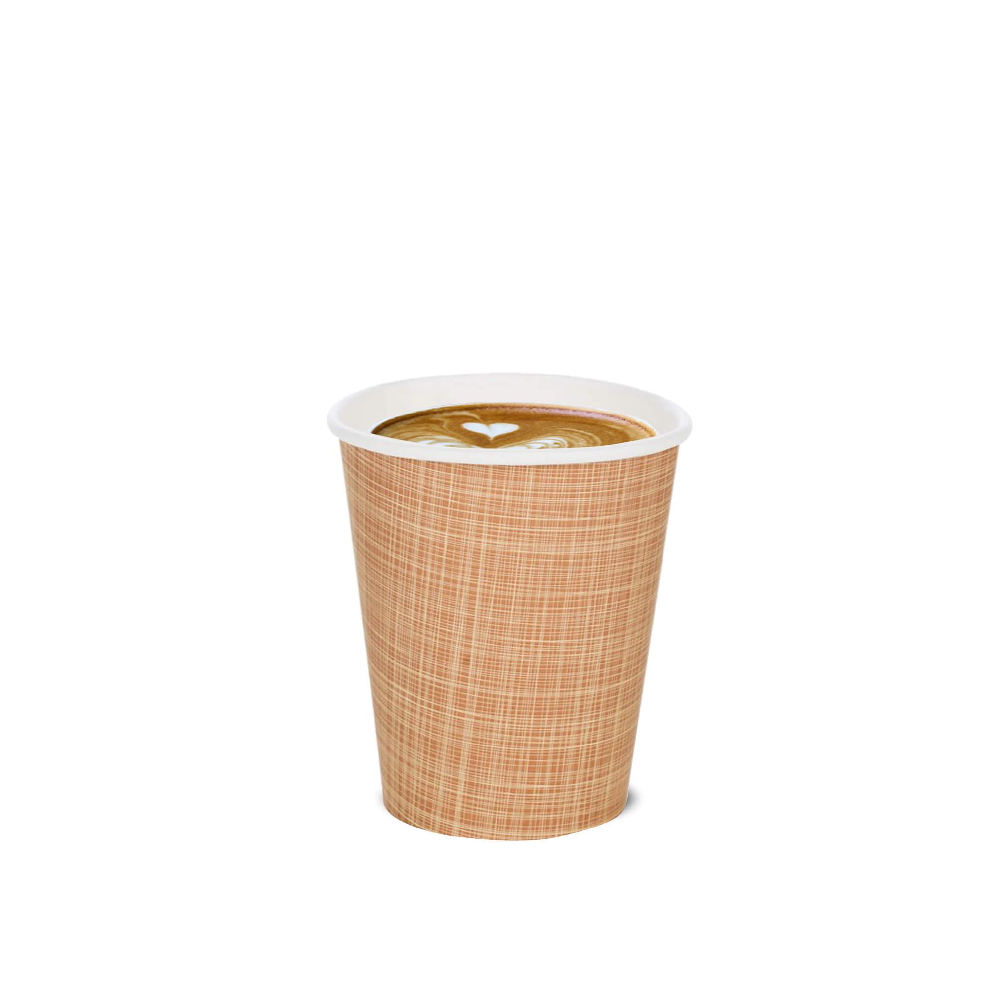 latte art paper cup
