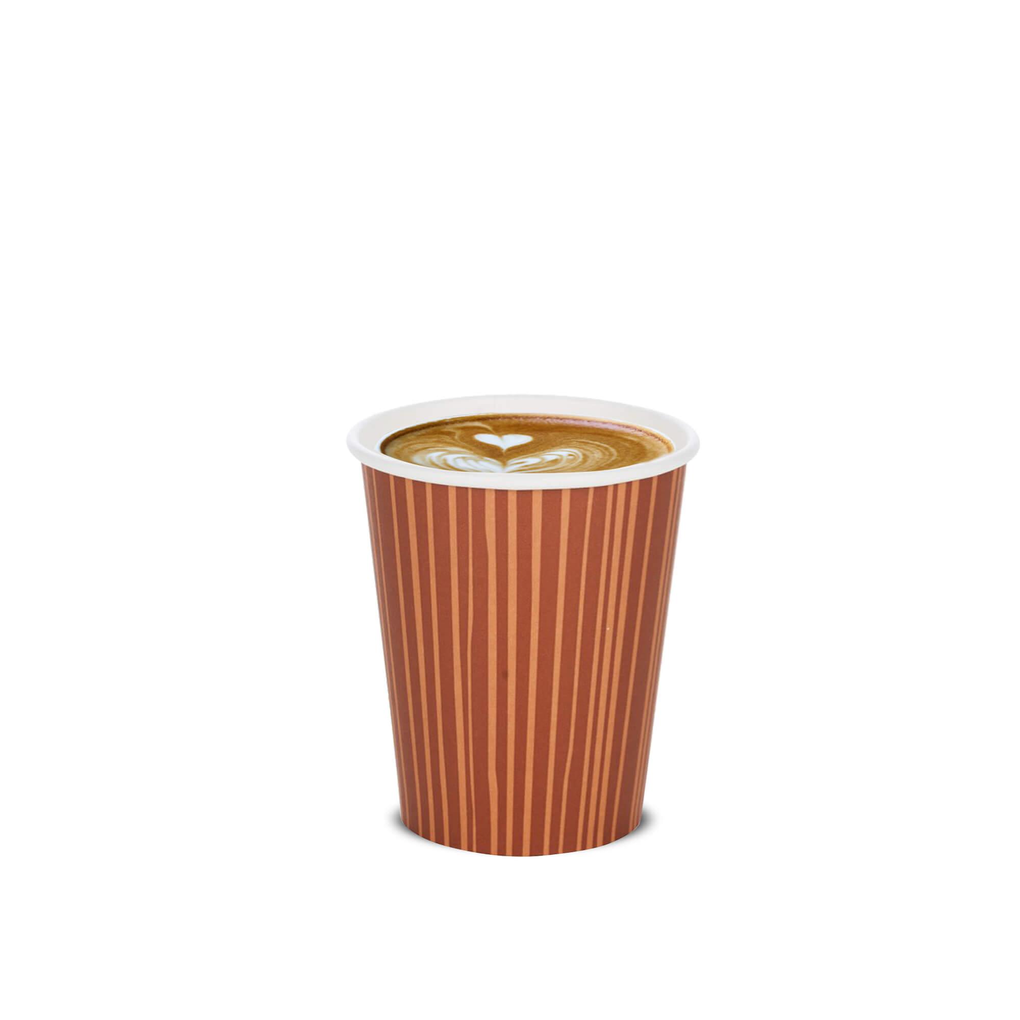 latte art coffee cup