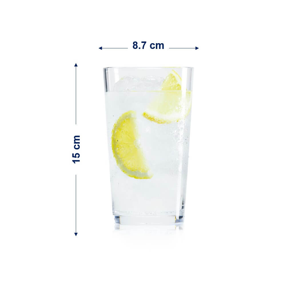 recyclable water glass