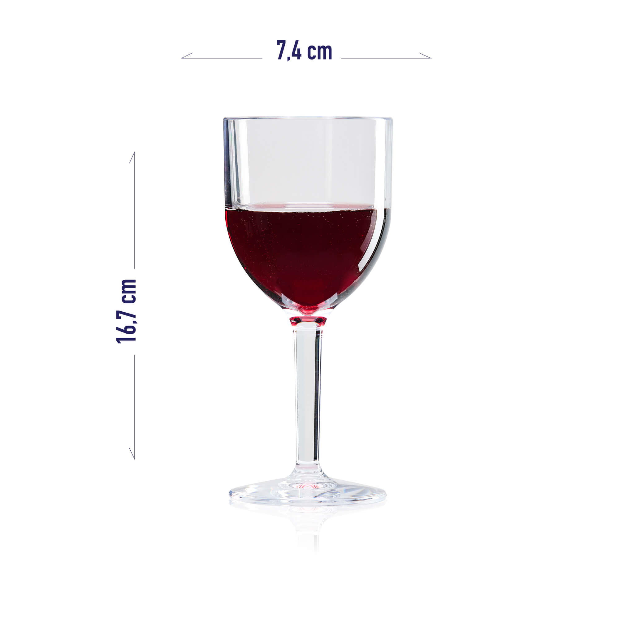 recyclable wine cup