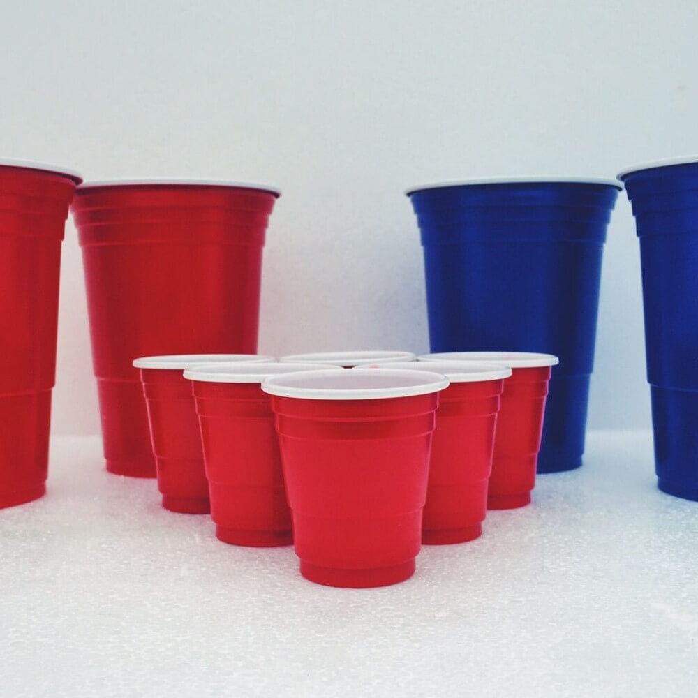beerpong shot cups