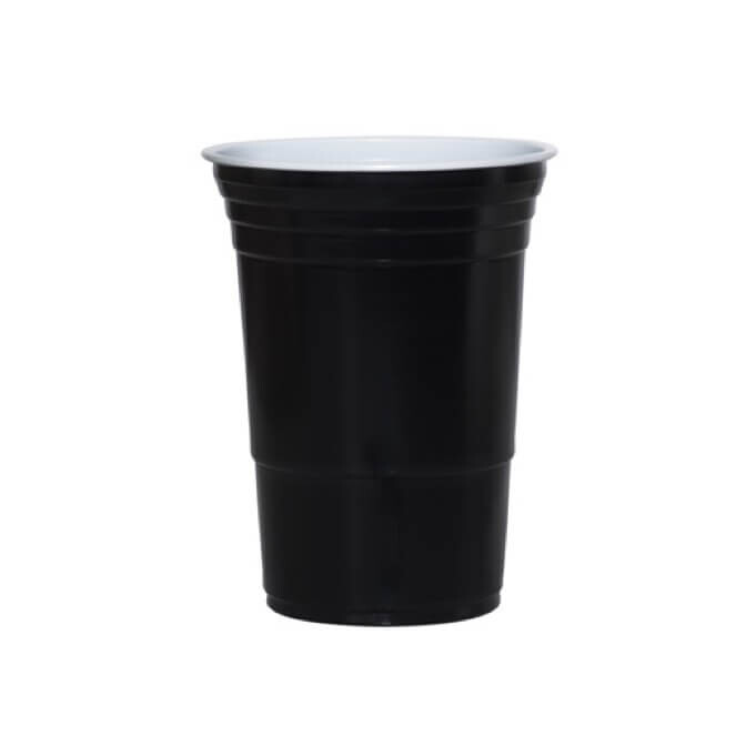 American Hot Cups black