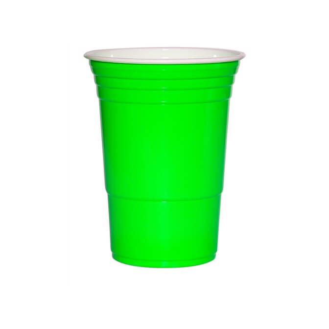 American Hot Cups green