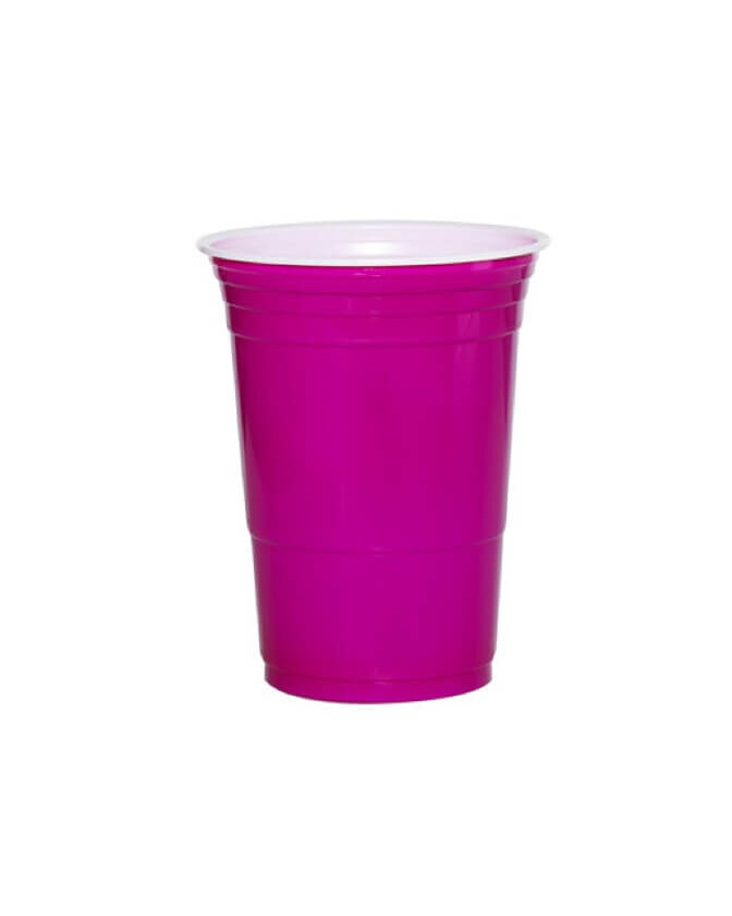 American Hot Cups pink