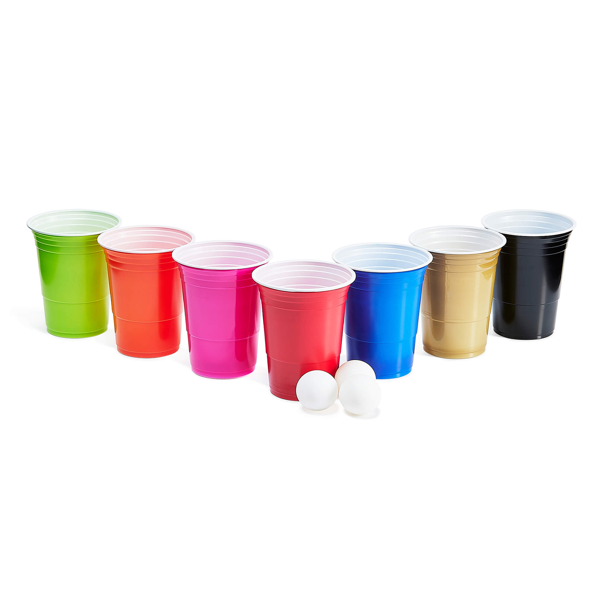 play beerpong game glass