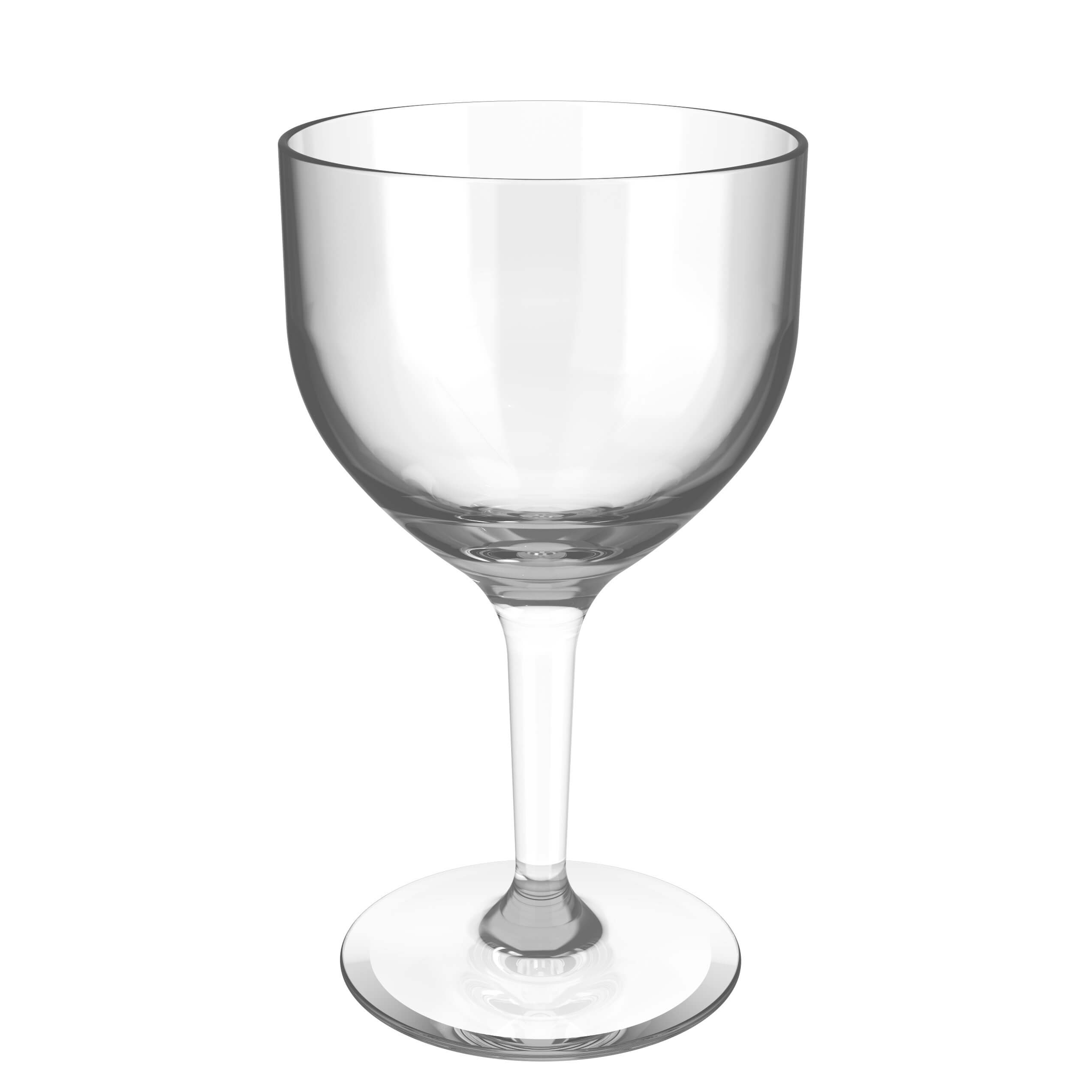 empty gin cup