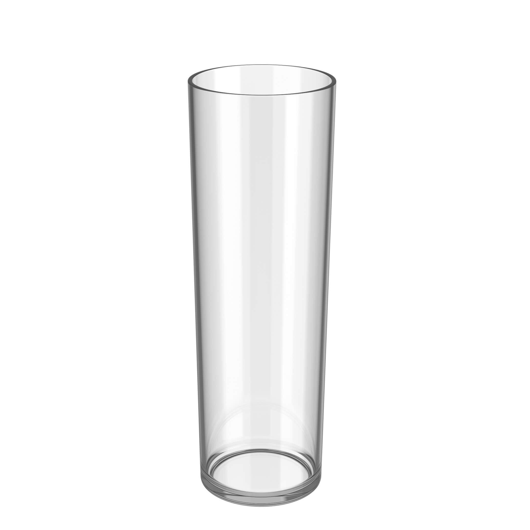 empty longdrink cup