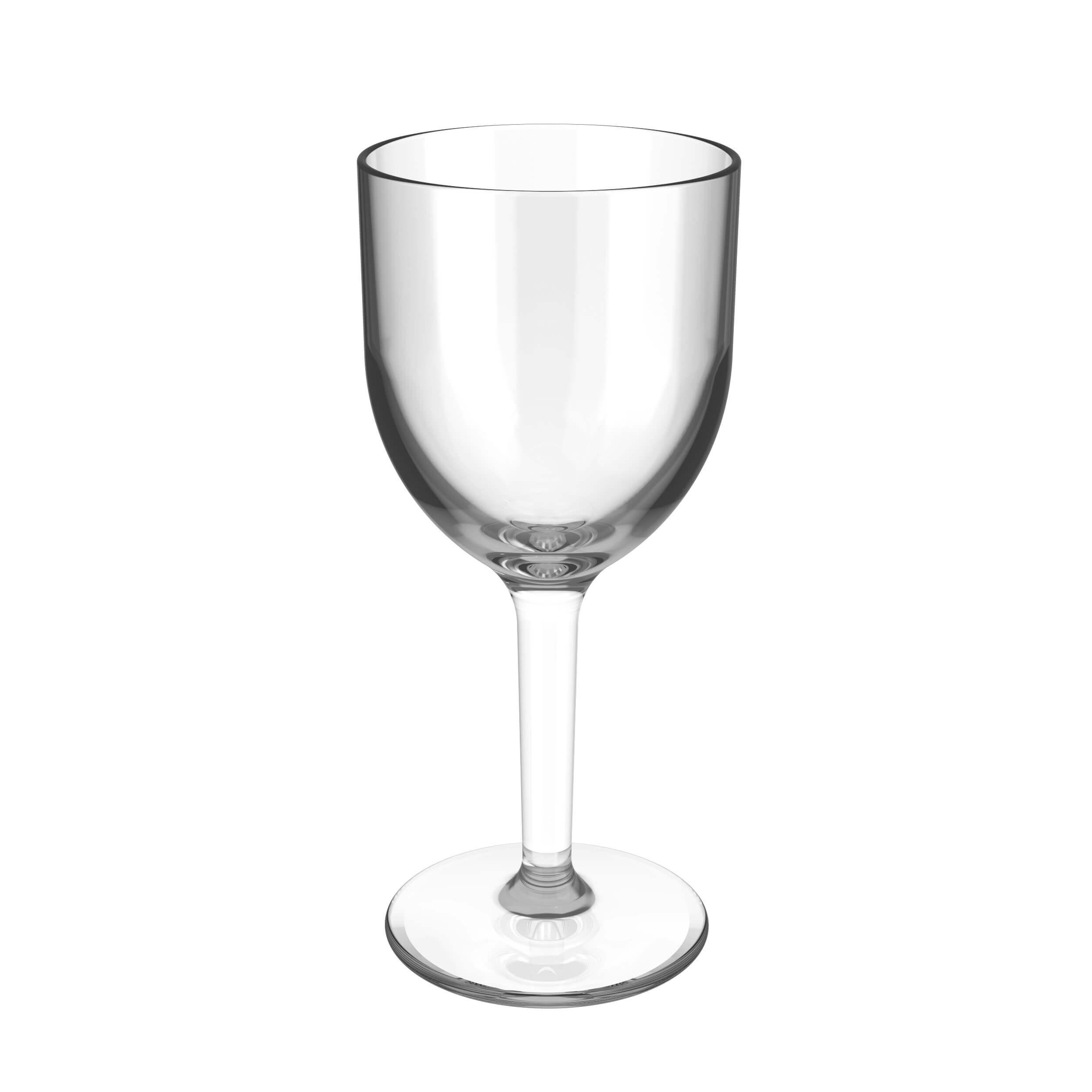 empty wine cup